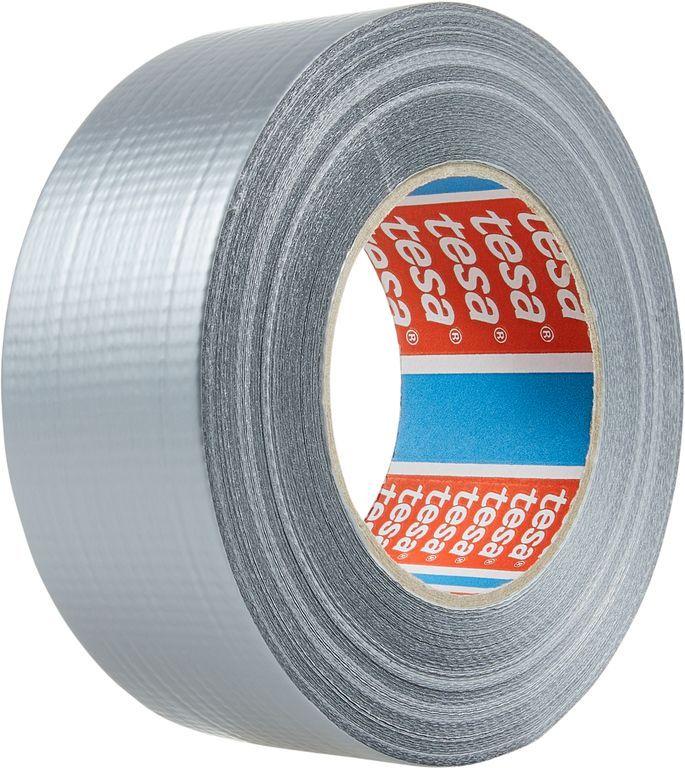 Opravná páska Extra Power Universal, 50 m x 50 mm, textilní, silně lepicí, stříbrná, balení