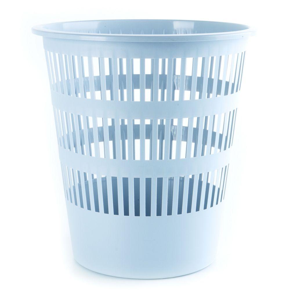 Plastový odpadkový koš perforovaný, 12 litrů, šedý DONAU