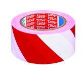 Páska pro trvalé značení, 33 m, červeno-bílá - 6 ks