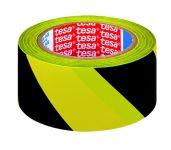 Páska pro trvalé značení, 33 m, žluto-černá - 6 ks