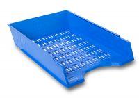 Děrovaný odkladač, modrý - 10 ks