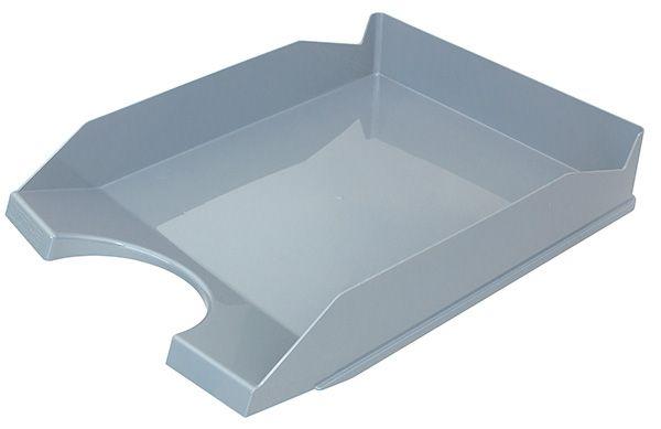 Kancelářský stolní odkladač, A4, šedý - bal. 10 ks Office Products