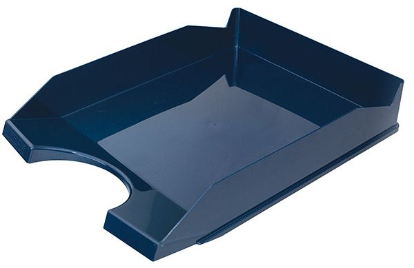 Kancelářský stolní odkladač, A4, tm. modrý - bal. 10 ks Office Products