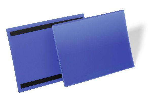 Magnetické pouzdro na dokumenty A4 na šířku, 50 ks
