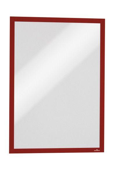Magnetický rámeček DURAFRAME A3, Červený, bal. 5 ks