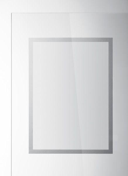 Samolepící rámeček DURAFRAME SUN A3 - Stříbrný