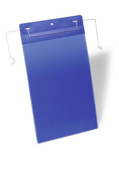 Závěsná kapsa s drátěným úchytem A4 na výšku, 50 ks