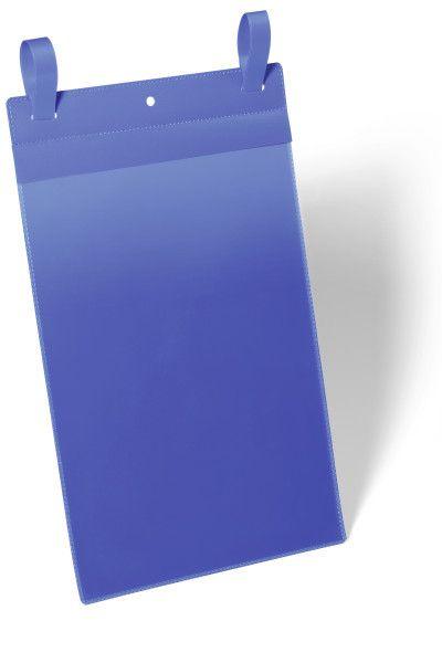 Závěsná kapsa s upínacími popruhy A4 na výšku, 50 ks