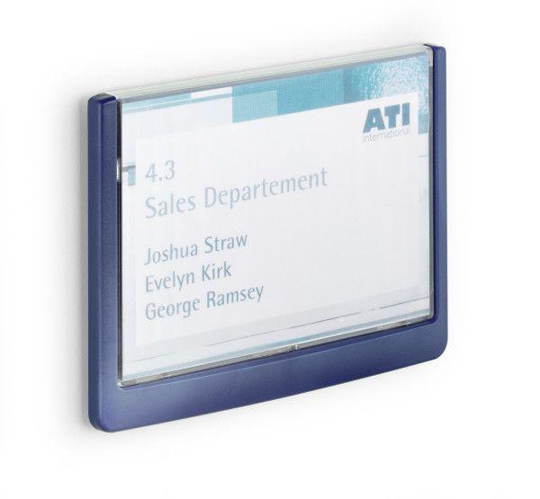 Orientační tabulka CLICK SIGN 149x105,5 mm - Modrá DURABLE