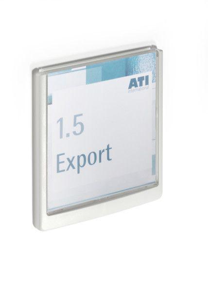 Orientační tabulka CLICK SIGN 149x148,5 mm - Bílá DURABLE