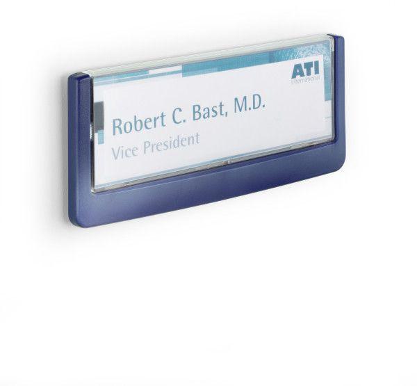 Orientační tabulka CLICK SIGN 149x52,5 mm - Modrá DURABLE