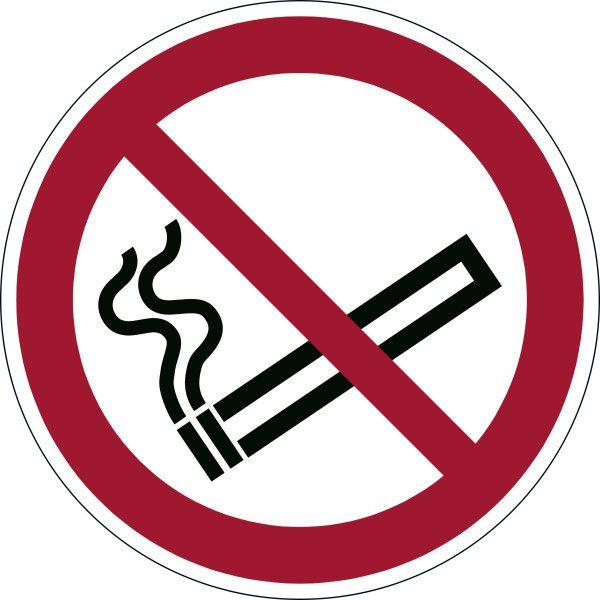 """Piktogram samolepka """"Kouření zakázáno"""" - 43 cm DURABLE"""