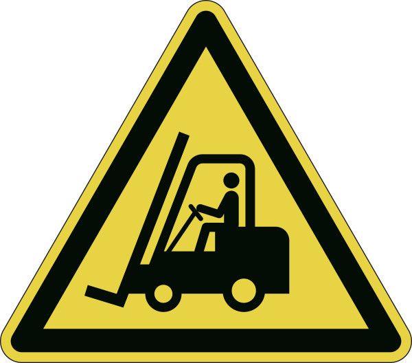 """Piktogram samolepka """"Pozor! Vysokozdvižný vozík"""" - 43 cm DURABLE"""