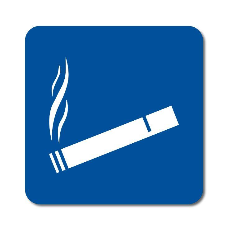 Symbol - Prostor vyhrazený pro kouření - Samolepka A-Z Reklama CZ