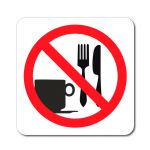 Zákaz vstupu s potravinami