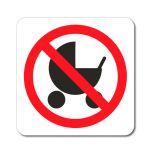 Zákaz vstupu s kočárkem