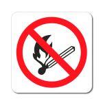 Zákaz manipulace s otevřeným ohněm