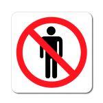 Zákaz vstupu postava