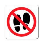 Zákaz vstupu stopy