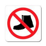 Zákaz vstupu v obuvi