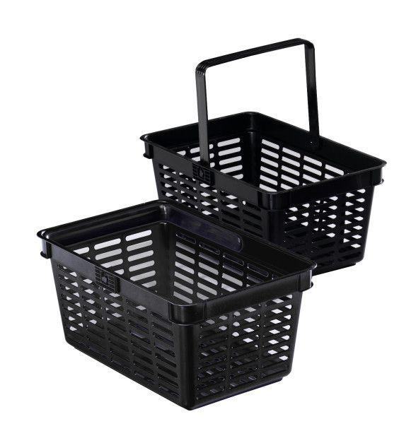Nákupní košík 19 l - Černý