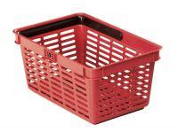 Nákupní košík 19 l - Červený