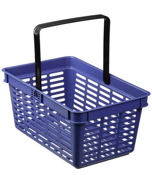 Nákupní košík 19 l - Modrý