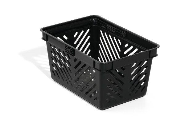 Nákupní košík 27 l - Černý