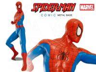 Spiderman Comic figura s ocelovou základnou
