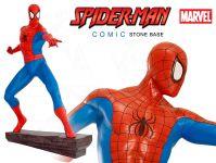 Spiderman Comic figura s kamennou základnou