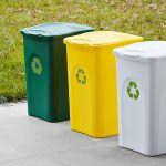 Odpadkový koš na tříděný odpad 50 l BEGREEN - Bílý A-Z Reklama CZ
