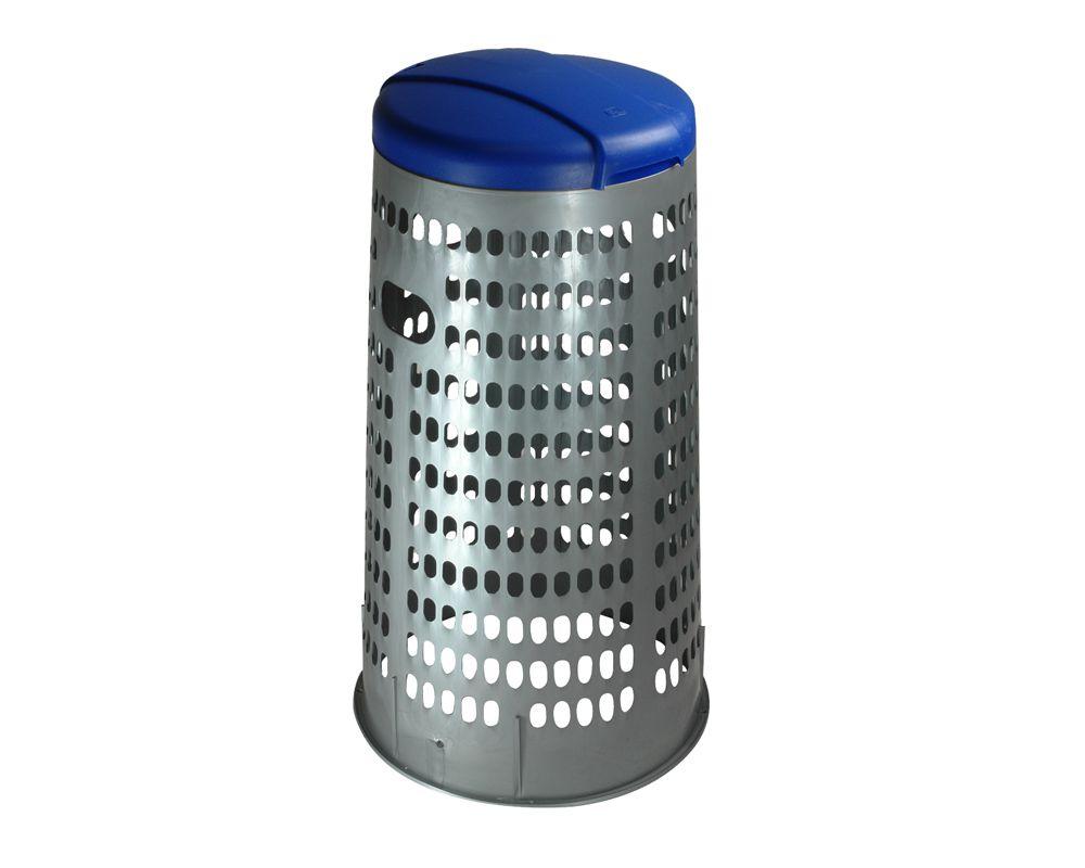 Stojan na 110 l pytle na tříděný odpad ECO - Modré víko