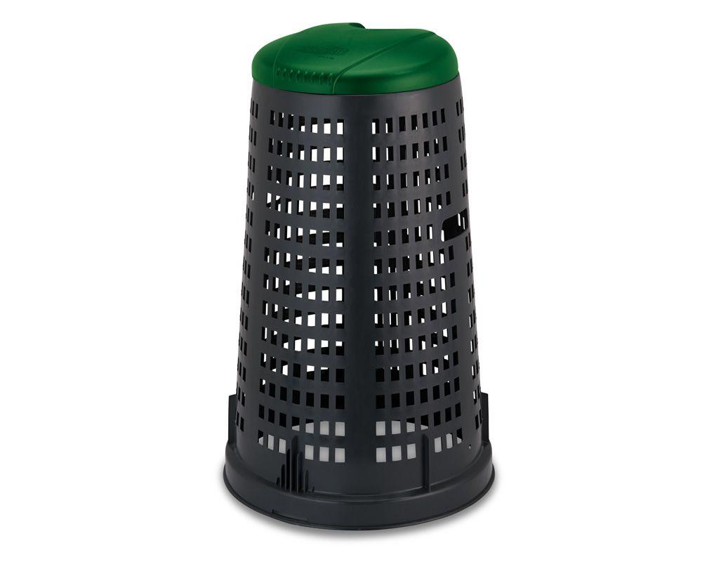Stojan na odpadní pytle PROFI - Zelené víko