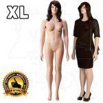 Dámská Plnoštíhlá figurína XL póza 3