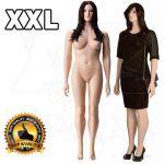 Dámská Plnoštíhlá figurína XXL póza 3
