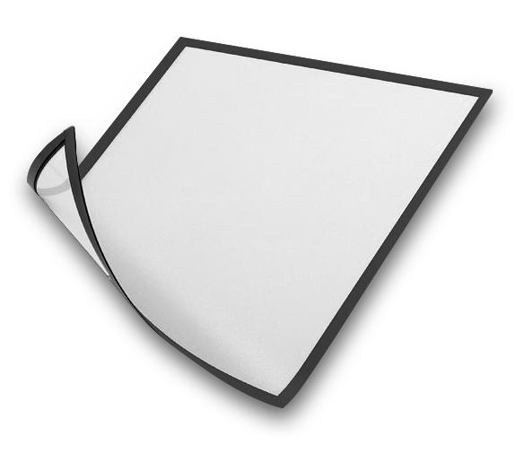 Magnetická plastová kapsa A4 - Černá A-Z Reklama CZ