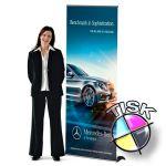 Luxury banner 85x210 s tiskem