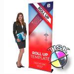 Popular banner 100x210 s tiskem