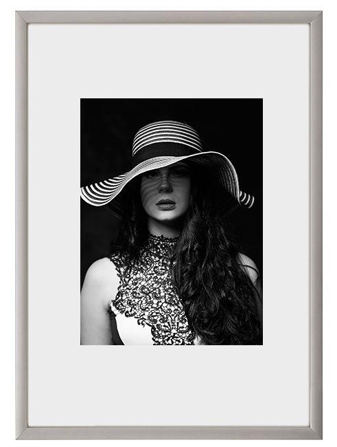 Hliníkový Foto rámeček 60x80 cm - Champagne