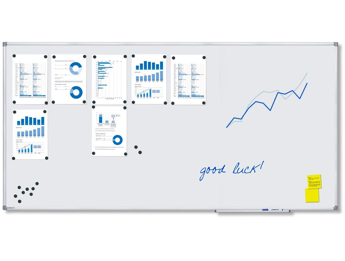 Magnetická tabule Economy 100x200