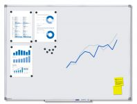 Magnetická tabule Economy 120x90
