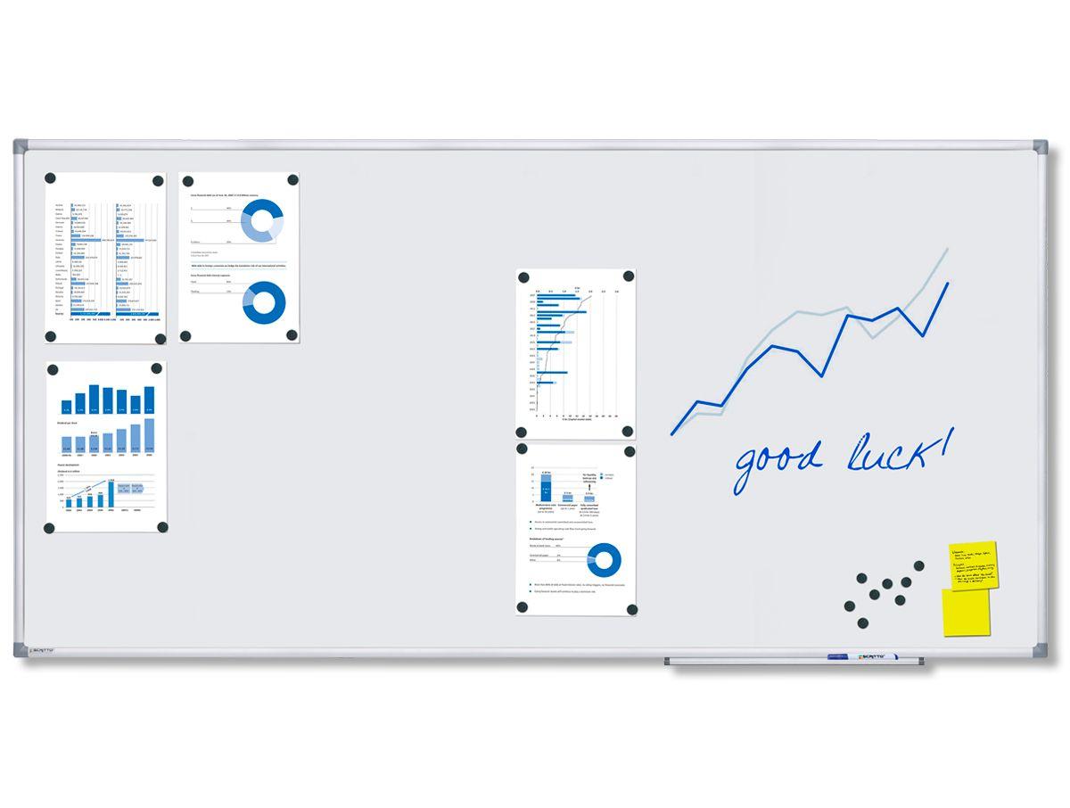 Magnetická tabule Economy 180x90