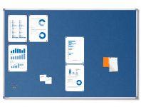 Textilní Modrá nástěnka 150x100