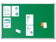 Textilní Zelená nástěnka 150x100