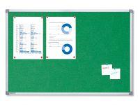 Textilní Zelená nástěnka 90x60