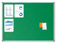 Textilní Zelená nástěnka 120x90