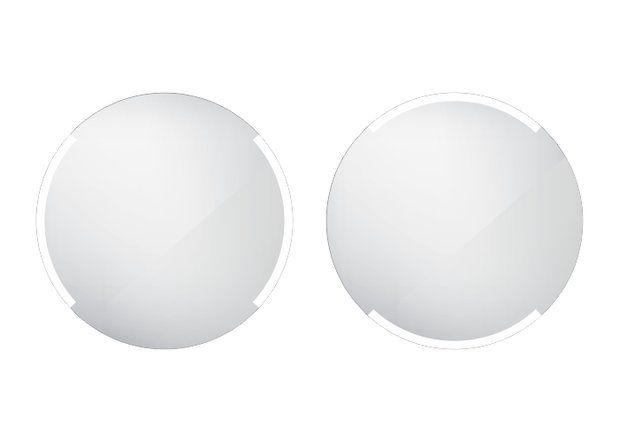 Koupelnové podsvícené LED zrcadlo 600x600