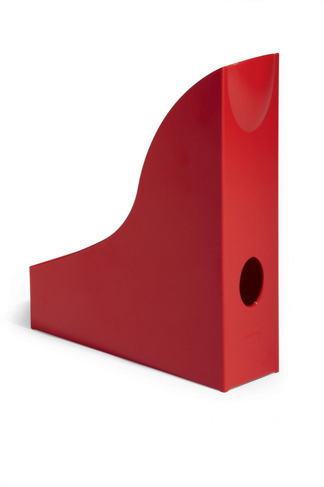Úložné boxy - sada 6 kusů - Červené