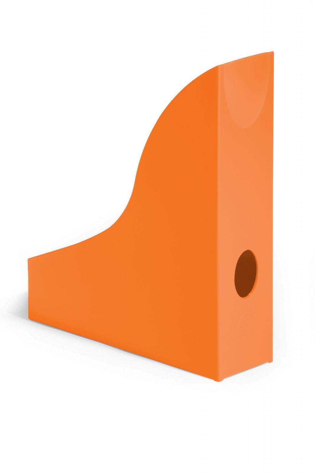 Úložné boxy - sada 6 kusů - Oranžové