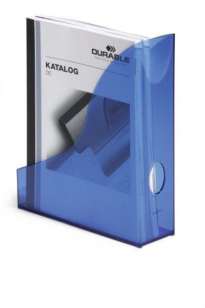 Úložné boxy - sada 6 kusů - Transp. Modré
